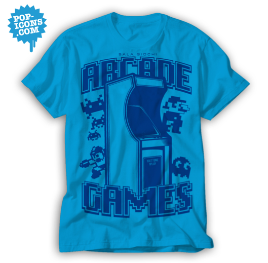 t shirt arcade
